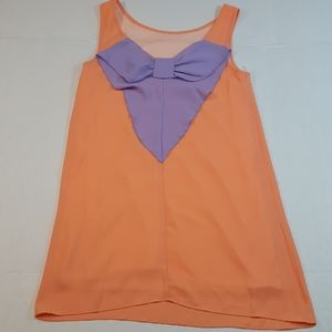 Coveted Clothing Apricot & Lilac Dress
